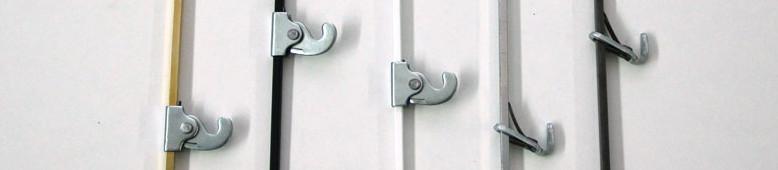 Colgar cuadros con varillas carriles ganchos soportes - Sistemas colgar cuadros ...